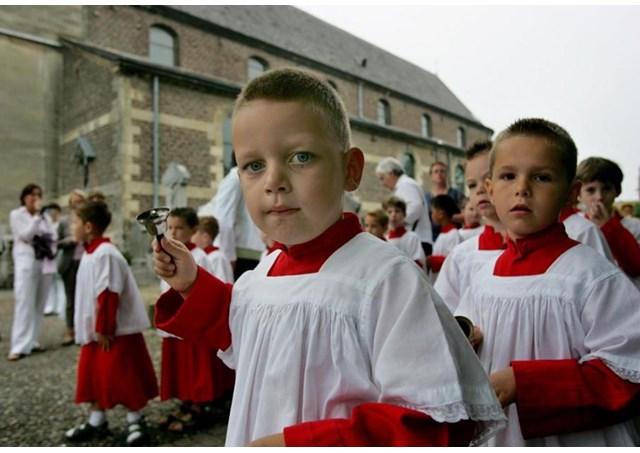 Một cuộc hành hương quy tụ 60000 trẻ em giúp lễ về Rôma